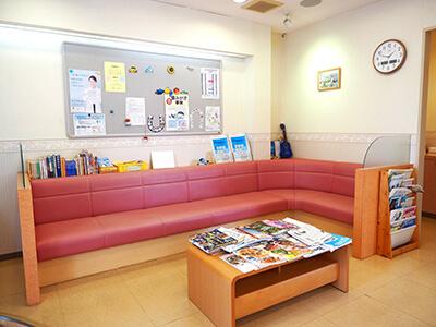 病院・クリニック、歯科医院・歯医者、整骨院・接骨院待合室